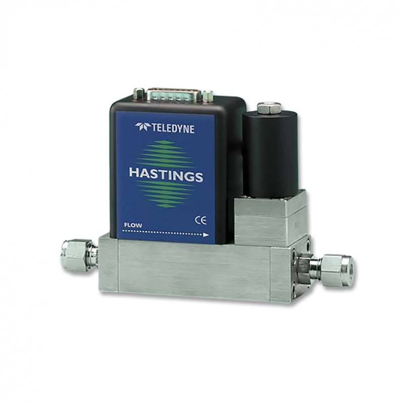 Hastings HFM-300 / HFC-302 Metal Sealed Low Capacity Flowmeters and Controllers